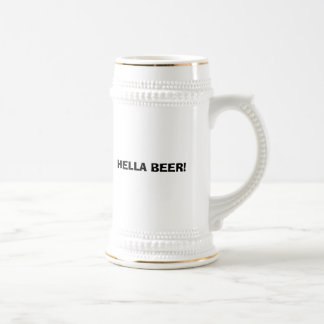 HELLAビール! ビールジョッキ