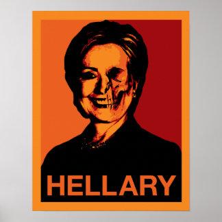 HELLARY 14x17.82ポスター ポスター