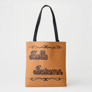 Hello Autumn Tote Bag トートバッグ