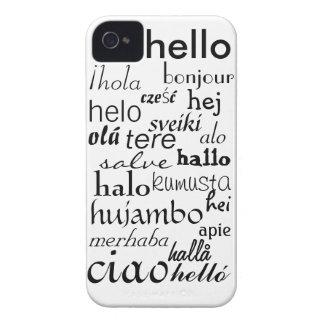 hellohello Case-Mate iPhone 4 ケース
