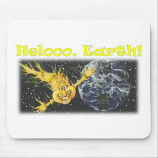 Helloooの地球 マウスパッド