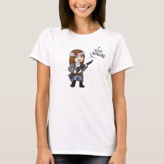 Helloween4545 Iの感覚の忍者のTシャツの女性M Tシャツ