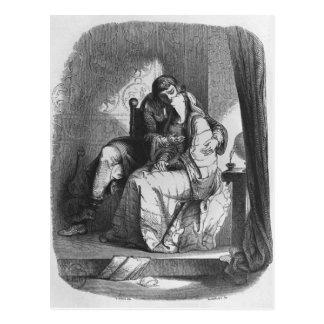 HeloiseおよびAbelardの接吻 ポストカード