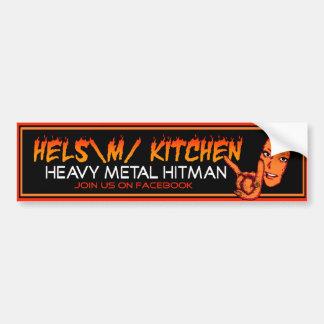 Helsの台所バンパーステッカー バンパーステッカー