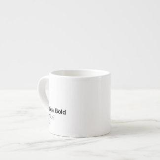 Helveticaはっきりしたneueの黒です エスプレッソカップ