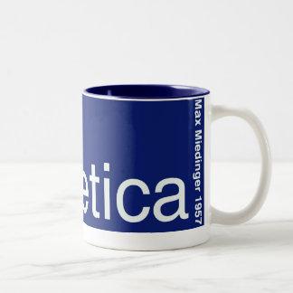 HelveticaマグLge ツートーンマグカップ