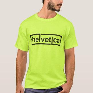 Helvetica芸術家のワイシャツ! Tシャツ