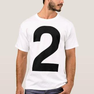 Helvetica 2 tシャツ