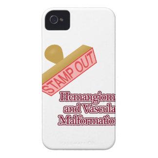 Hemangiomaおよび管の奇形 Case-Mate iPhone 4 ケース