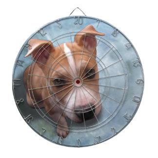 Hemiピット・ブルの子犬 ダーツボード