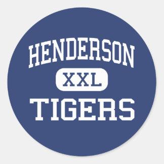 Hendersonのトラ中間のジャクソンジョージア ラウンドシール