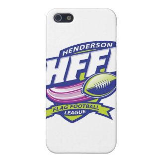 Hendersonのフラグフットボールリーグ iPhone SE/5/5sケース
