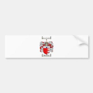 HENDERSONの家紋- HENDERSONの紋章付き外衣 バンパーステッカー
