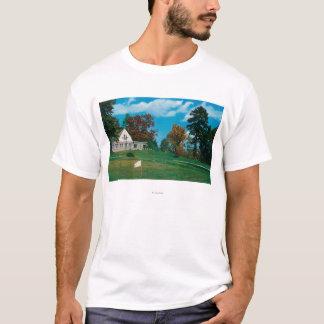 Hendersonvilleのカントリークラブの家 Tシャツ
