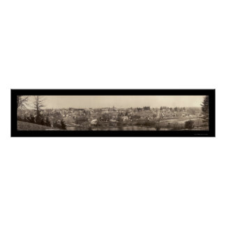 HendersonvilleのNCの写真1911年 ポスター