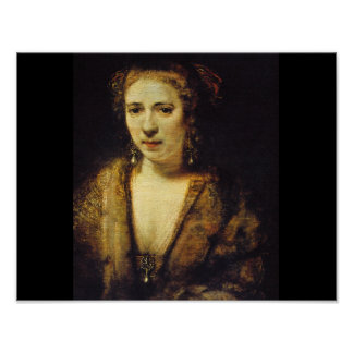Hendrijke Stoffels', Rembrandt_Dutchのマスター ポスター