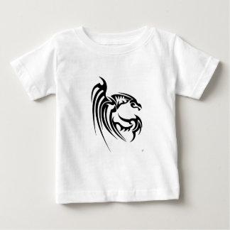 Henhamの黒いドラゴン ベビーTシャツ