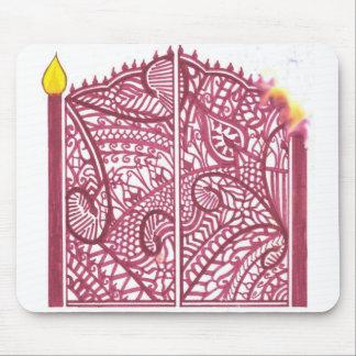 Hennaのゲート マウスパッド