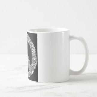 Hennaのピースサイン コーヒーマグカップ