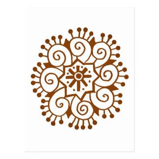 Hennaの円 ポストカード