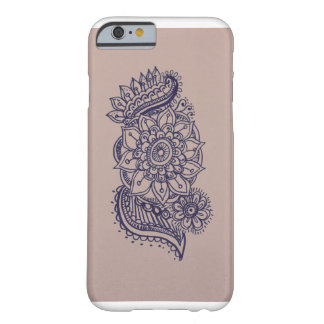 Hennaの刺激を受けたな箱 Barely There iPhone 6 ケース