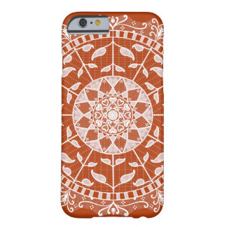 Hennaの曼荼羅 Barely There iPhone 6 ケース