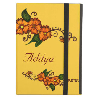 Hennaの花 iPad Airケース