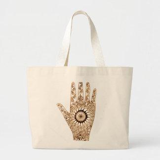 Henna手 ラージトートバッグ