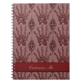 Henna手(赤い) ノートブック