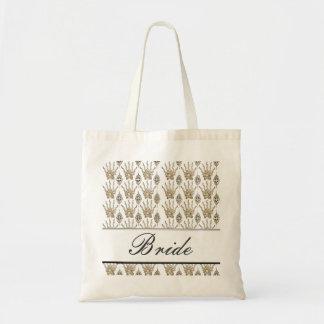Henna手(金) (結婚式) トートバッグ