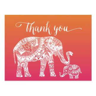 - Henna象ありがとう ポストカード
