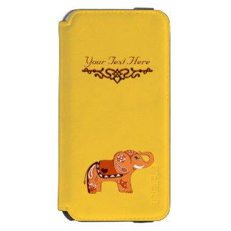 Henna象(オレンジか赤い) Incipio Watson™ iPhone 5 財布型ケース