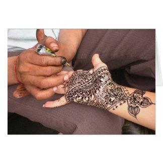 Henna 2008年 グリーティングカード