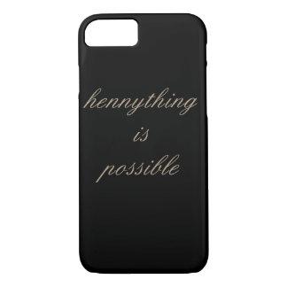 HennythingはIPhone可能な7の場合です iPhone 8/7ケース