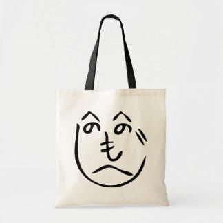 Henohenomoheji (へのへのもへじ) Kakashiのかかしのバッグ トートバッグ