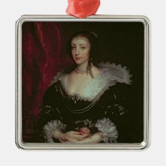 Henriettaマリア女王 メタルオーナメント