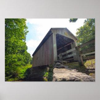Henry Covered Bridge, Ohio ポスター