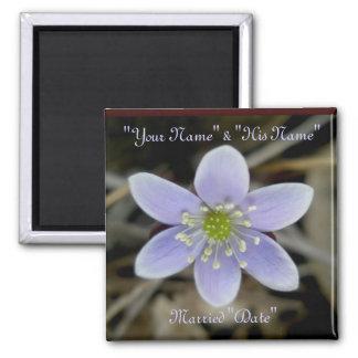 Hepaticaの結婚式の記憶の磁石 マグネット