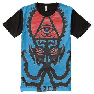 Hephzibah Occult Trump Symbol オールオーバープリントT シャツ