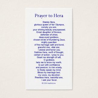 Heraの祈りの言葉カード 名刺