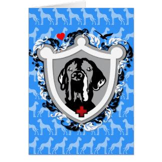 Heraldicグレートデーン カード