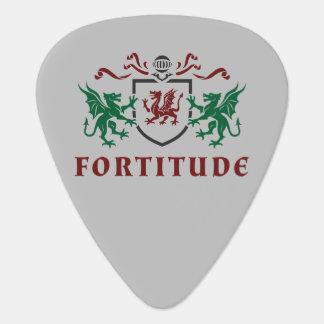 Heraldicドラゴンの紋章 ギターピック