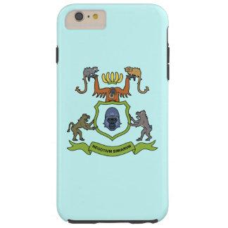 Heraldic猿のiPhone 6のプラスの場合 Tough iPhone 6 Plus ケース