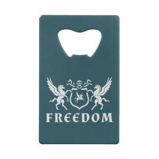Heraldic自由ペガソス クレジットカード 栓抜き