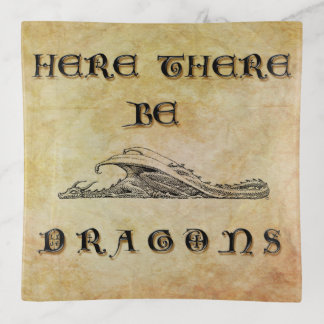 Here There Be Dragons トリンケットトレー