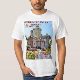 Herefordの入口の灯台、ニュージャージーのTシャツ Tシャツ