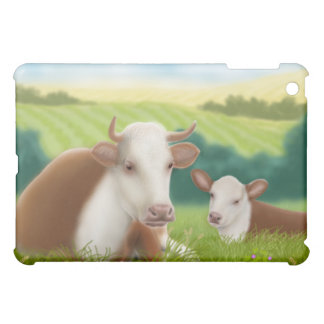 Herefordの牛および子牛 iPad Mini Case