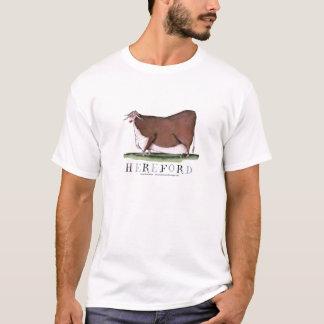 hereford牛、贅沢なfernandes tシャツ