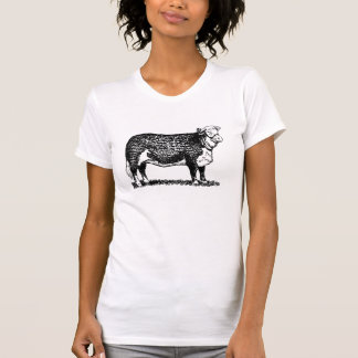 Hereford牛 Tシャツ
