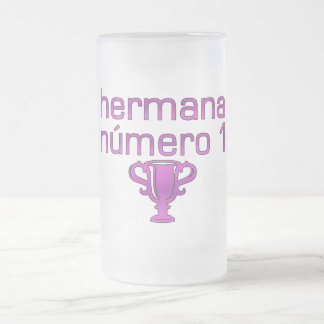 Hermana Número 1 フロストグラスビールジョッキ